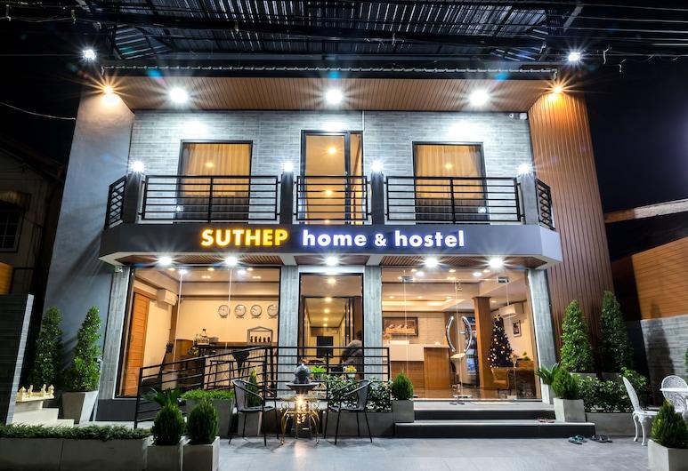 Suthep Home & Hostel, Bangkok, Hotel Front – Evening/Night
