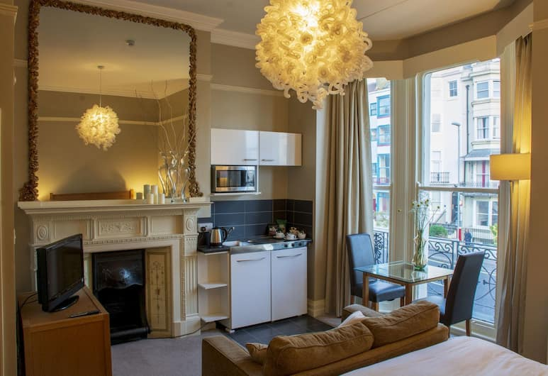 Amherst Brighton, Brighton, Double Room, 1 Double Bed, Non Smoking, Sea View, In-Room Kitchenette