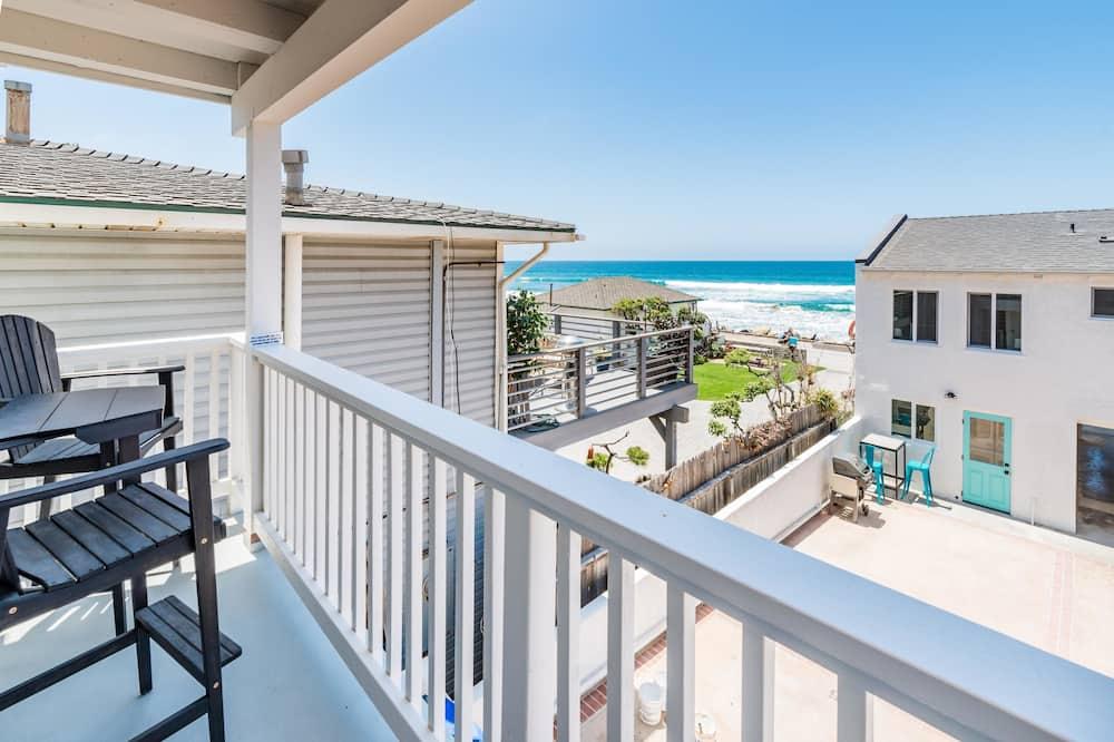Ferienhaus, Mehrere Betten - Balkon