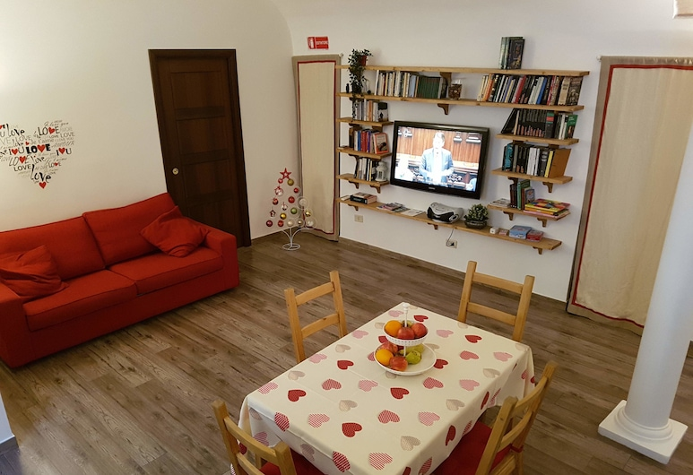 La casa di Fabio, Rom, Lejlighed - 1 soveværelse, Opholdsområde