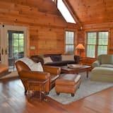 Ferienhütte, Mehrere Betten (Serendipity) - Wohnzimmer