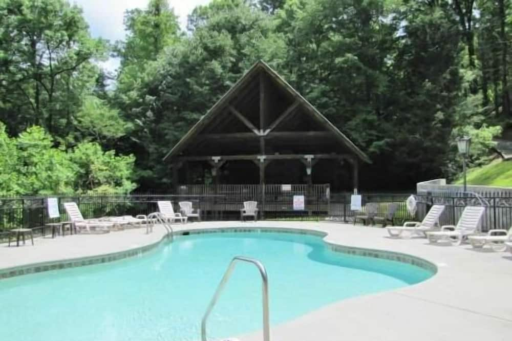 Cabin, 1 King Bed (A View for Two) - Outdoor Pool