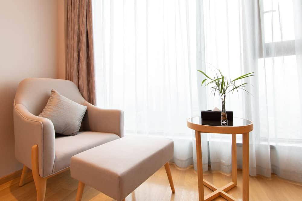 Улучшенный номер, 2 односпальные кровати, для некурящих - Зона гостиной