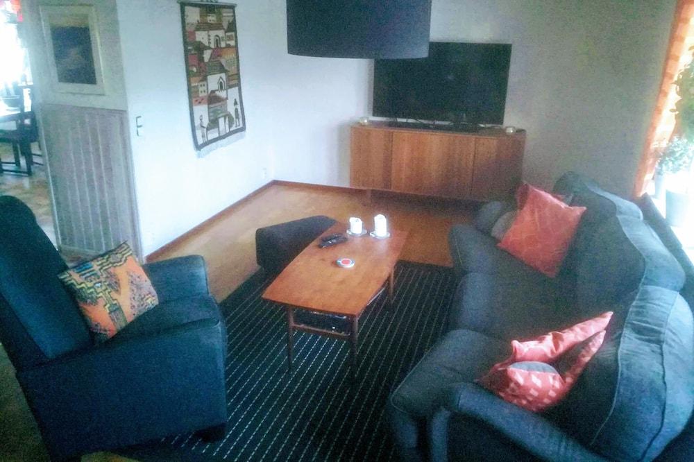 Casa Confort, vista a la colina - Sala de estar