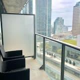 Deluxe szoba, 1 king (extra méretű) franciaágy, nemdohányzó (Shared Accommodation) - Kilátás az erkélyről