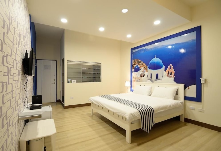 Meet Happiness B&B, Donggang, Deluxe Quadruple Room, Guest Room