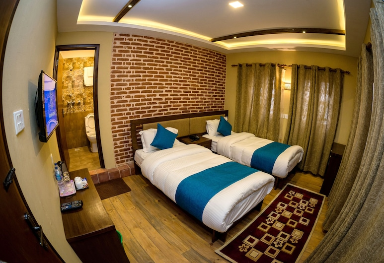 Salwood Heritage, Kathmandu, Deluxe Twin Room, 2 Twin Beds, Guest Room