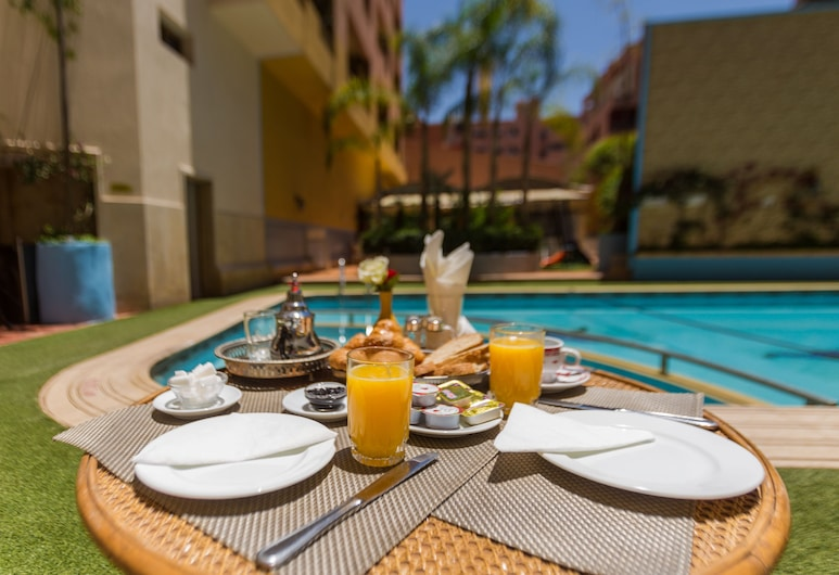 Hôtel Spa Atlassia, Marrakech, Restaurante