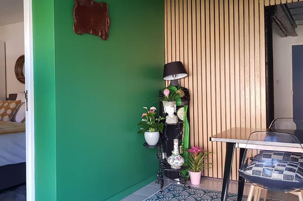 Apartament typu Deluxe Suite, dla niepalących, widok na ogród (Reflets) - Powierzchnia mieszkalna