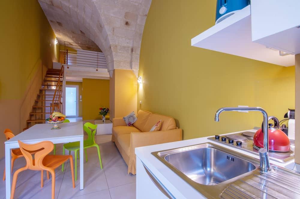 Comfort-Apartment, Gartenblick (1) - Wohnzimmer