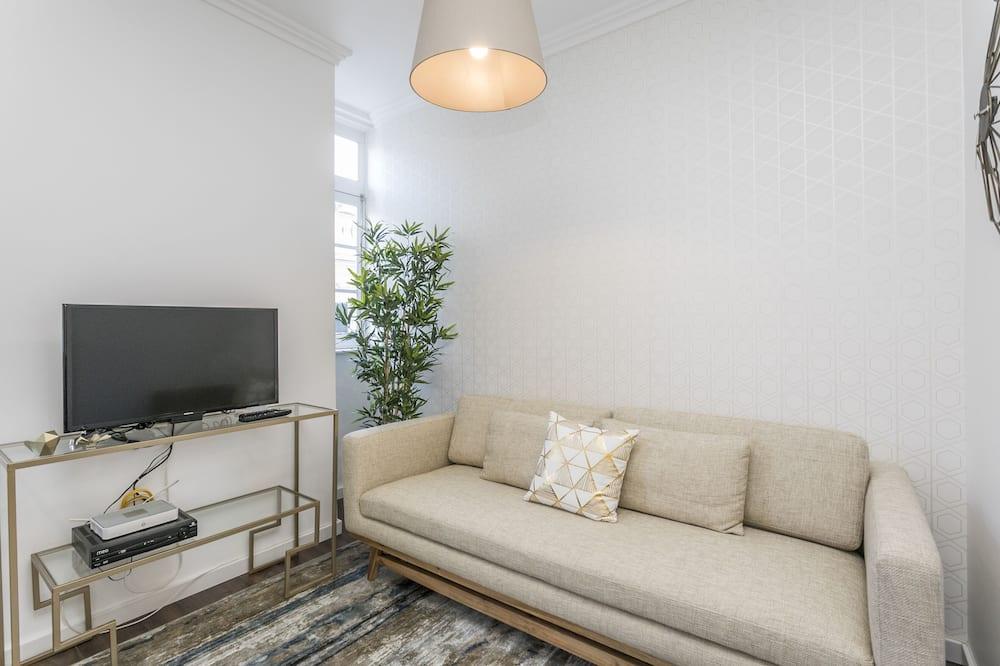 Апартаменти, 1 спальня (3º andar) - Вітальня