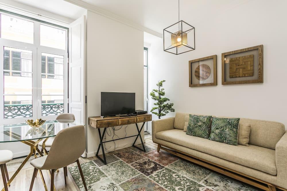 Апартаменти, 1 спальня (2º andar) - Вітальня