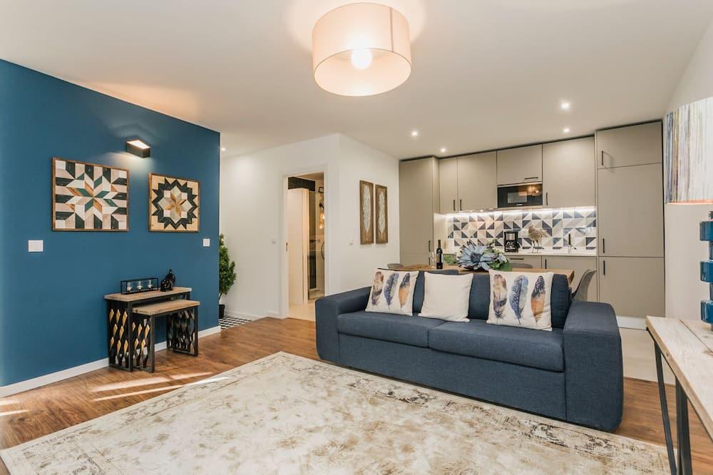 Apartment, 2 Bedrooms (Duplex) - Living Area