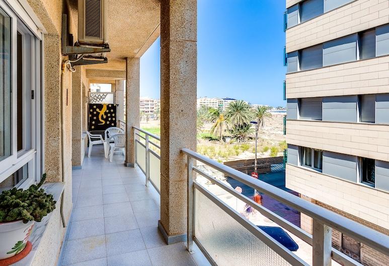 Apartmento Pedro Lorca 164, Torrevieja, דירה, חדר שינה אחד, טרסה, נוף לים, מרפסת/פטיו