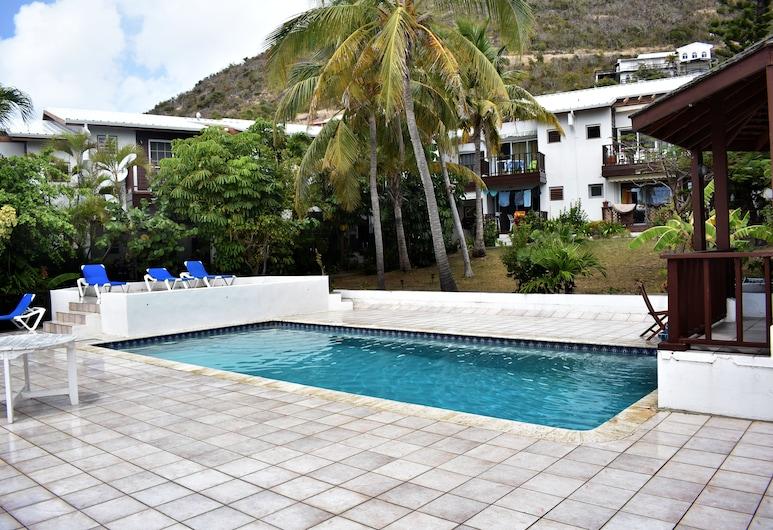 Tamarind Hotel Suite, Filipsburgas, Lauko baseinas