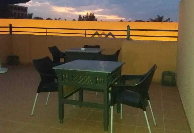 非洲媽媽青年旅舍, 馬拉喀什, 陽台