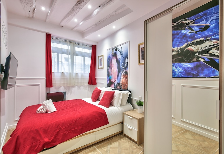 74 - Star Wars Le Marais, Paris, Apartment, Room