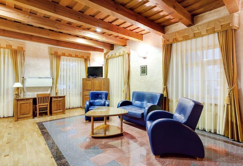 Atrium Suites, Vilnius, Economy kahetuba, 1 kahevoodi (large), Lõõgastumisala