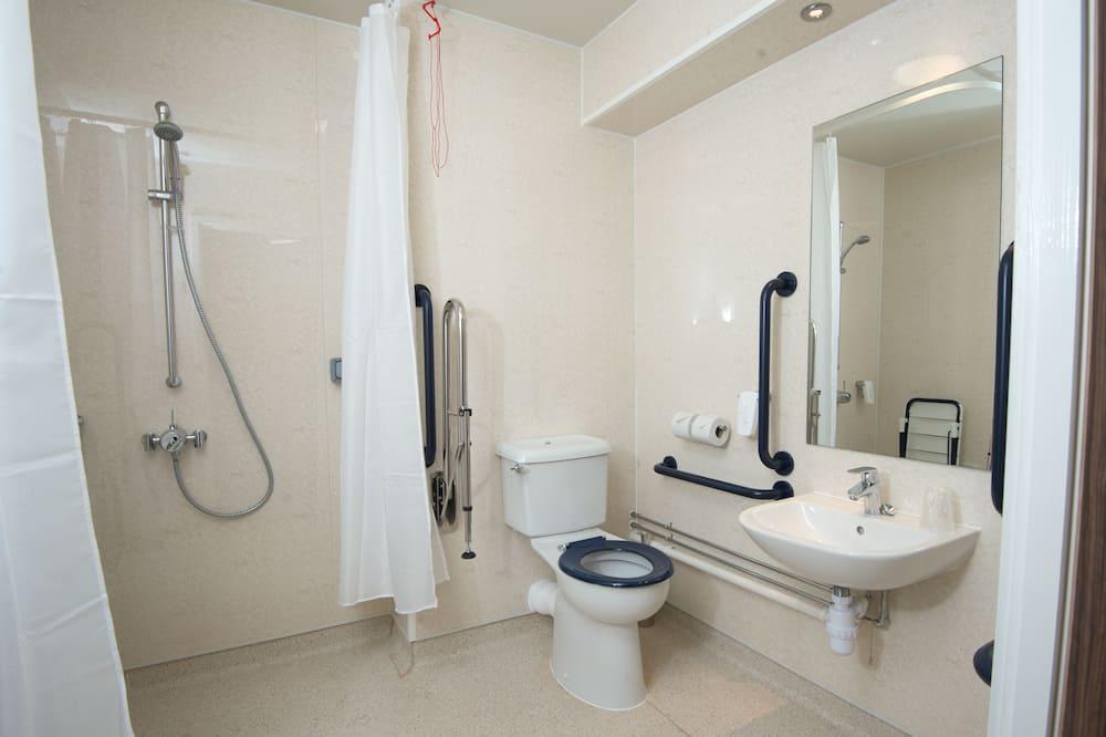Dvojlôžková izba, bezbariérová izba - Kúpeľňa
