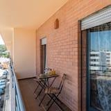 apartman, 2 hálószobával, mozgássérültek számára is hozzáférhető, kilátással a hegyre - Erkély