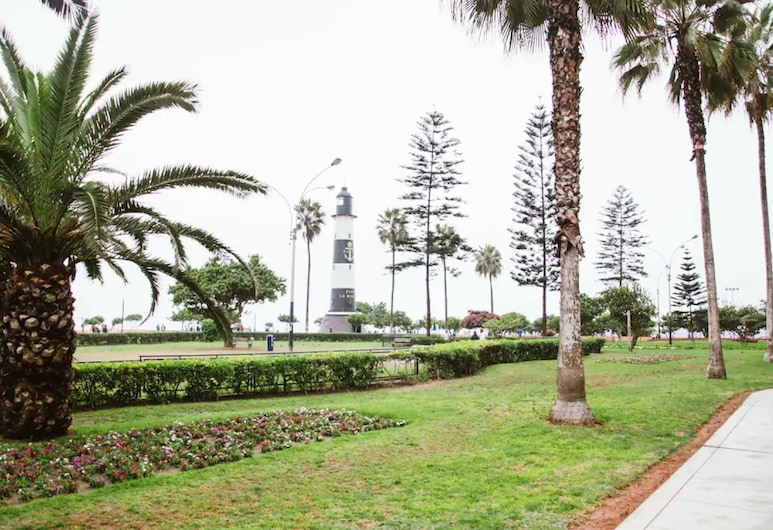 Exclusive And Stylish Flat - Miraflores Malecón, Lima, Property Grounds