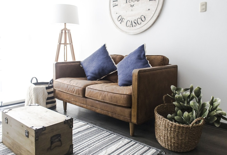 Wonderful Apartment With Superb Location - Miraflores, Lima, Apartment, 3 Bedrooms, Living Area