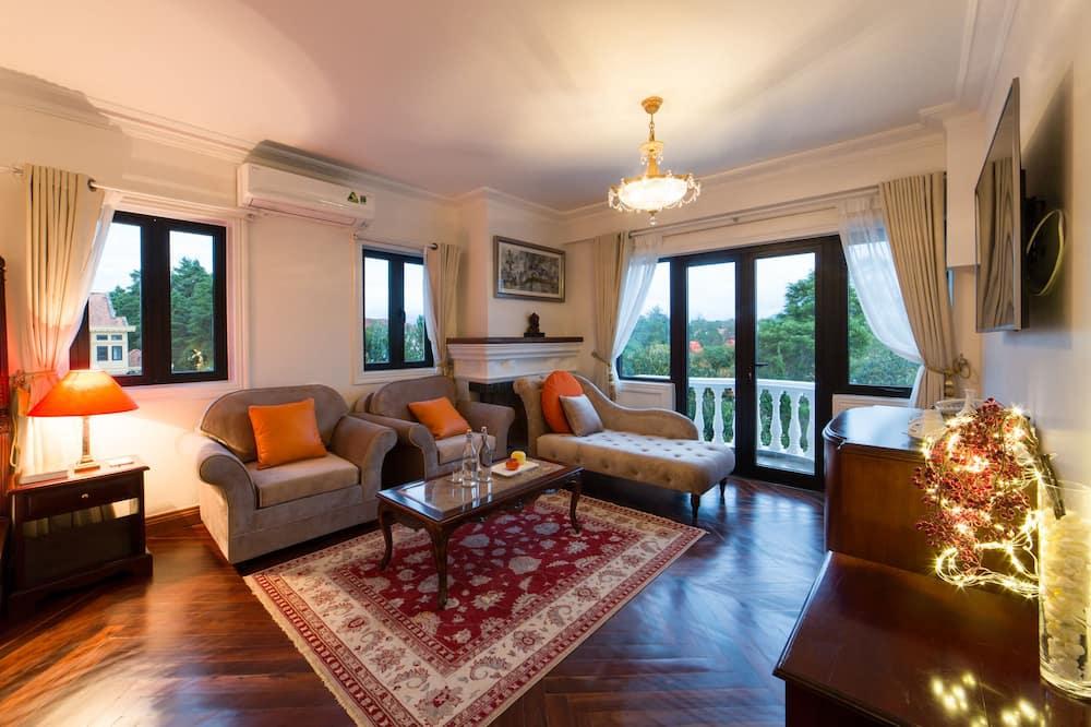 Phòng Suite dành cho gia đình - Phòng khách