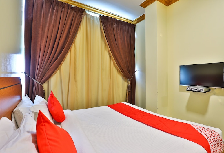 OYO 150 Al Hamra Palace Al Aswaq, ריאד, סטודיו סטנדרט, מיטה זוגית, חדר אורחים