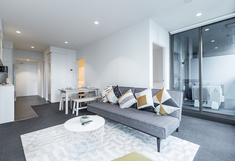 Melstay Apartment - Eporo, Melbourne, Standard külaliskorter, Lõõgastumisala