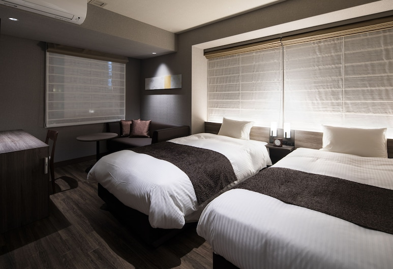 Kyoto Gion U-BELL Hotel, Kyoto, Standard Twin Room, Multiple Beds, Non Smoking, Guest Room