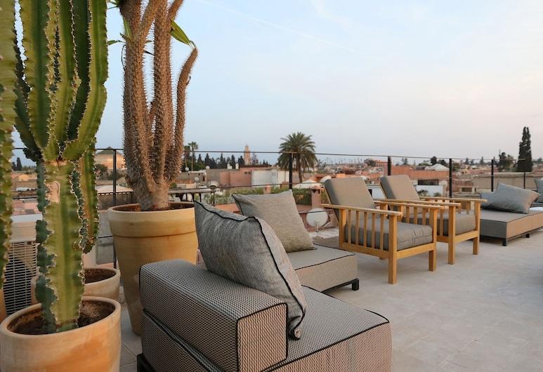 巴希庭院酒店, 馬拉喀什, 陽台