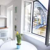 都會公寓, 3 間臥室, 陽台, 河景 - 客廳