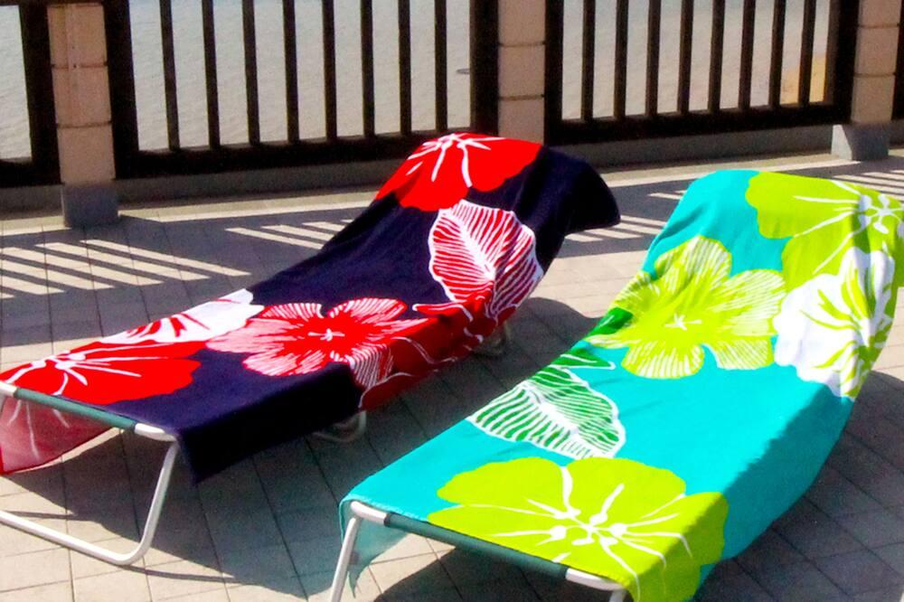 Oceanfront wide terrace !! 2 bed room+tatami room - Balcony