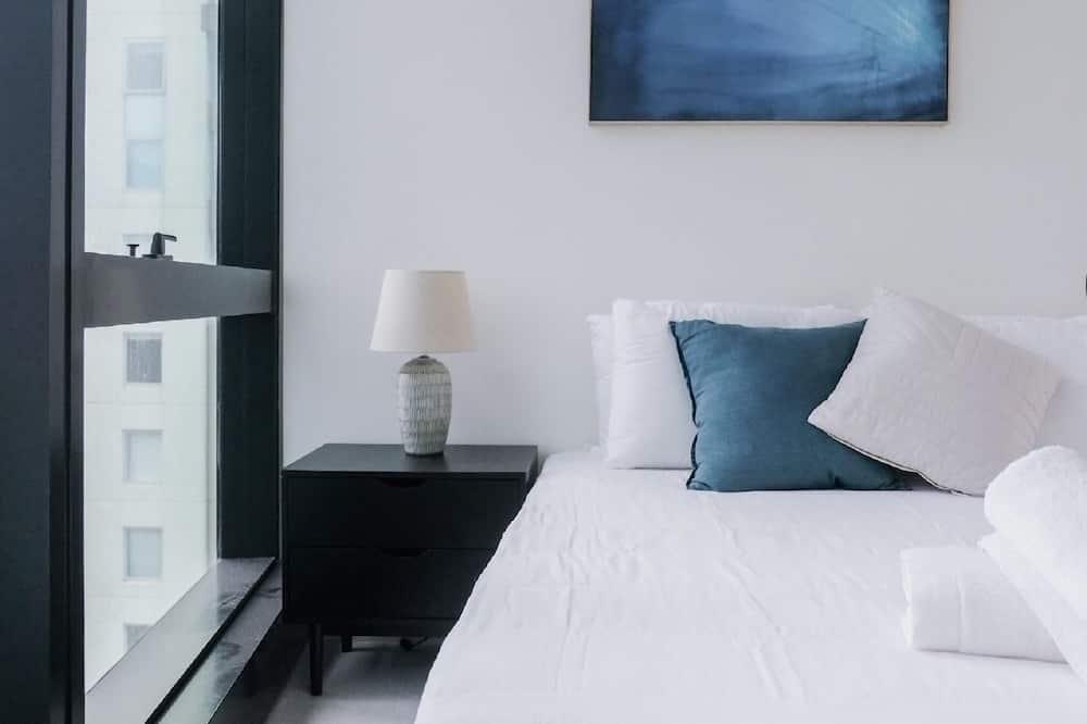 Апартаменты «Сити», 2 двуспальные кровати «Квин-сайз», для людей с ограниченными возможностями - Номер