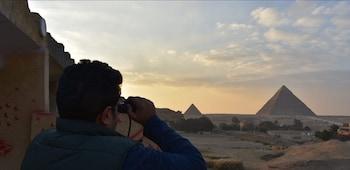 Bild vom Mondy Pyramids View in Giza