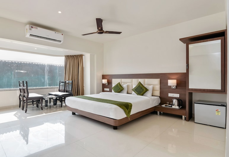 Treebo Trend Staycation Holiday, Navi Mumbai, Quarto Deluxe, 1 cama queen-size, Não-fumadores, Quarto