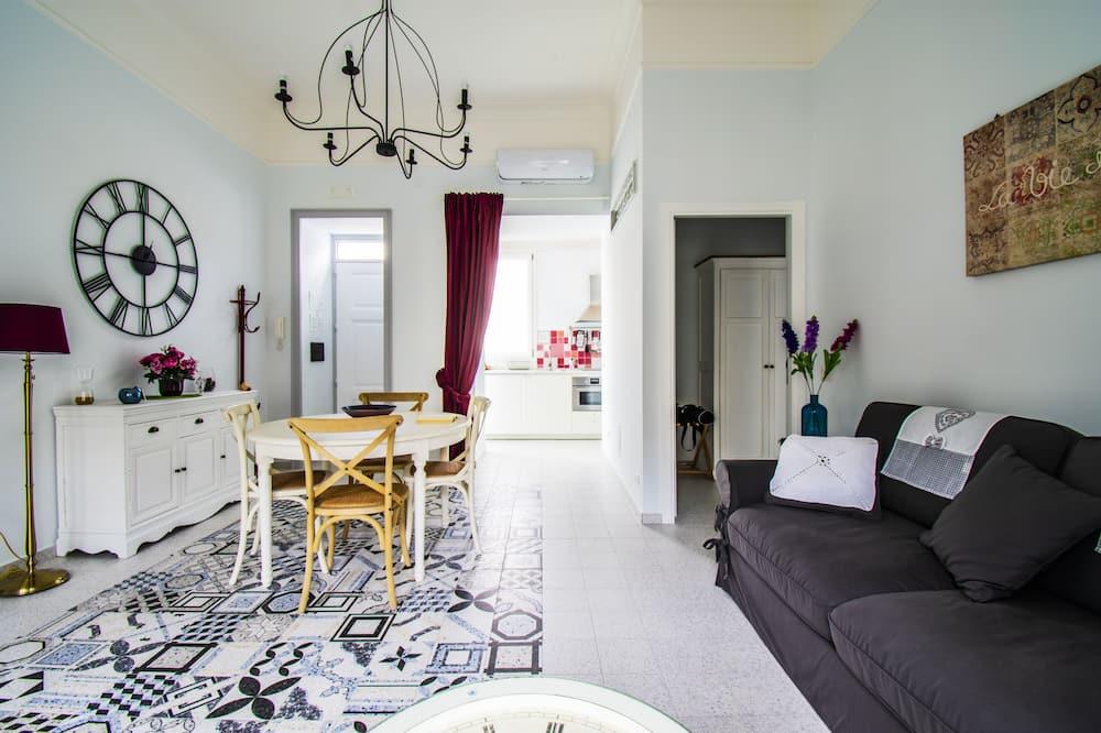 Улучшенный люкс - Зона гостиной