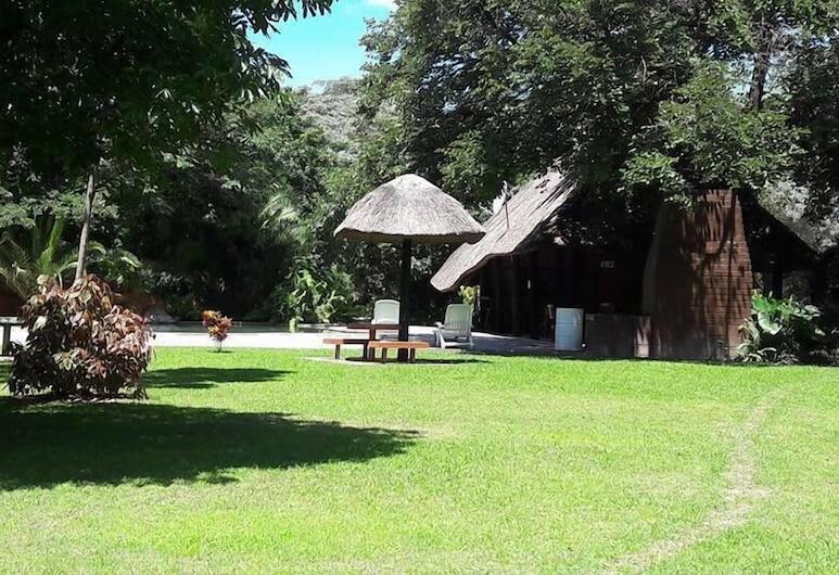 Namwi Island Lodge, Katima Mulilo, Jardín