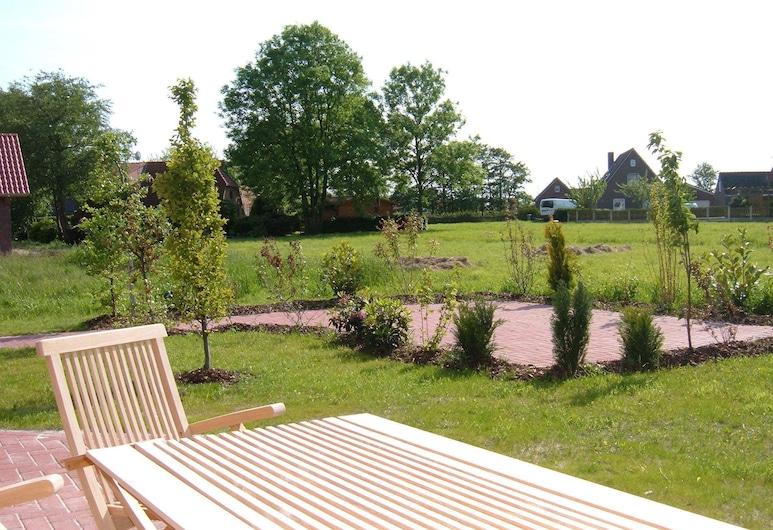 Nordsee - Residenz, Dornum, apartman (Juist - incl. 35 EUR cleaning fee), Terasz/udvar