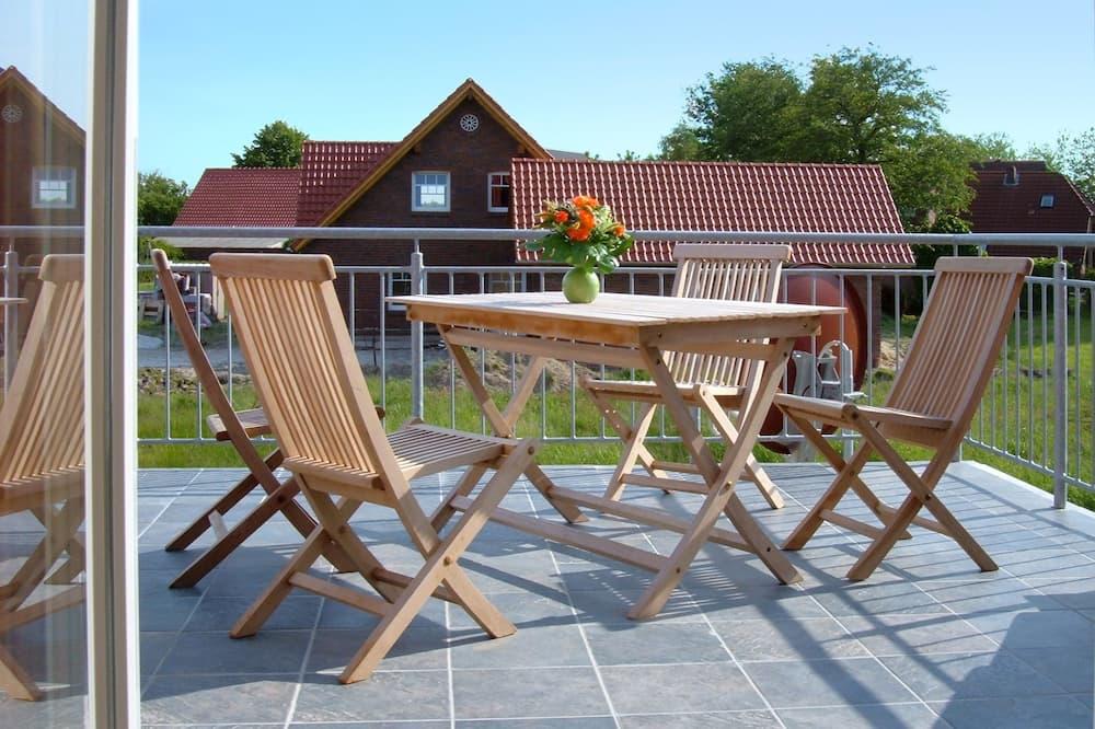 Apartmán (Langeoog -  incl. 35 EUR cleaning fee) - Balkón