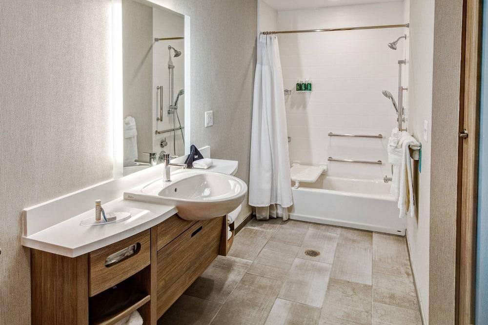 套房, 2 張加大雙人床, 非吸煙房 - 浴室