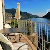 Apartament, 2 sypialnie, widok na jezioro - Balkon