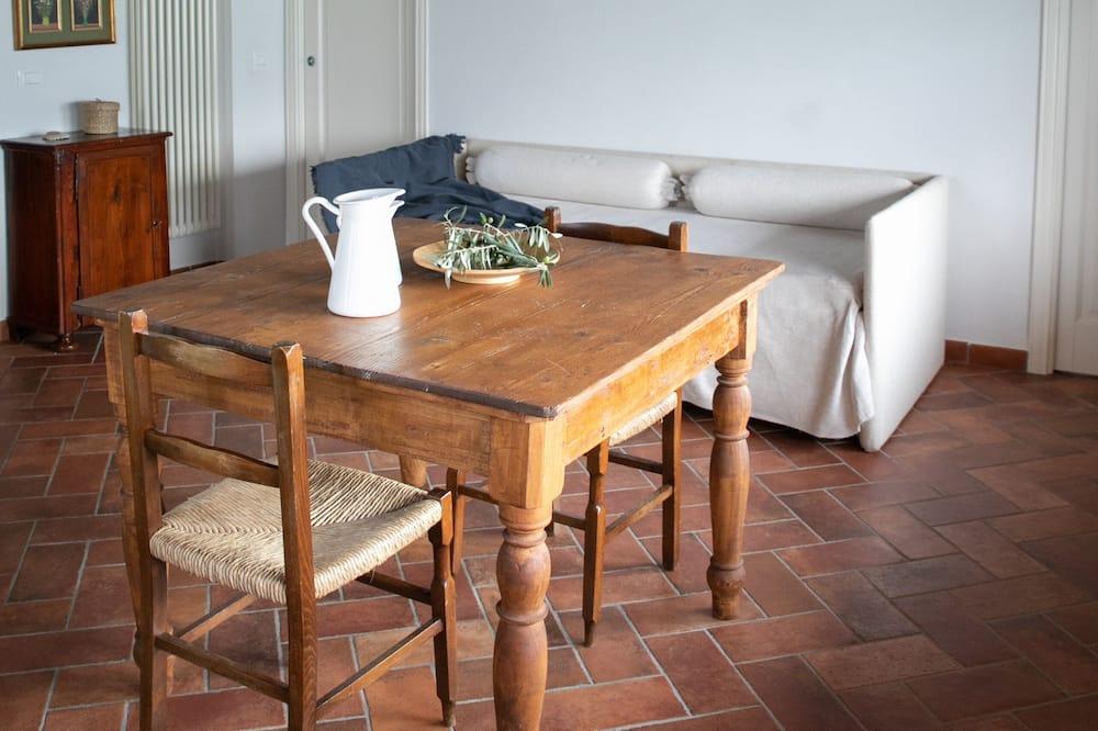 Külaliskorter, 1 magamistoaga (La stallina attico) - Lõõgastumisala