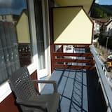 Pokój dla 1 osoby, balkon, widok na miasto - Balkon