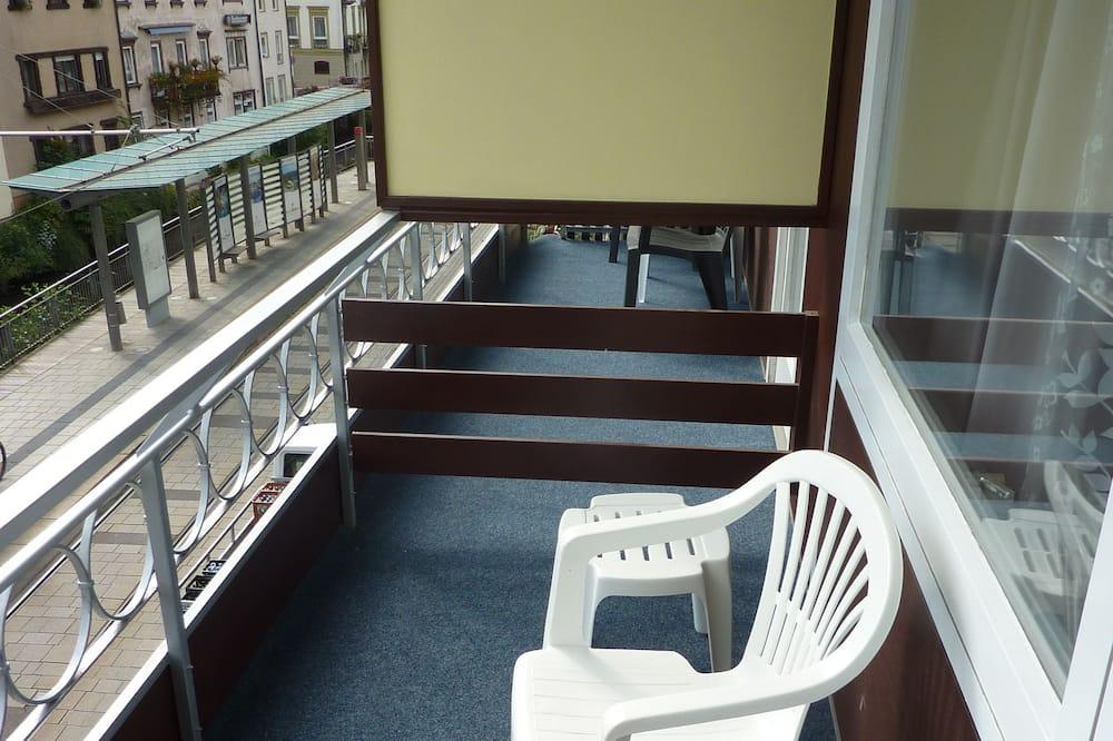 Jednokrevetna soba, balkon, pogled na grad - Balkon
