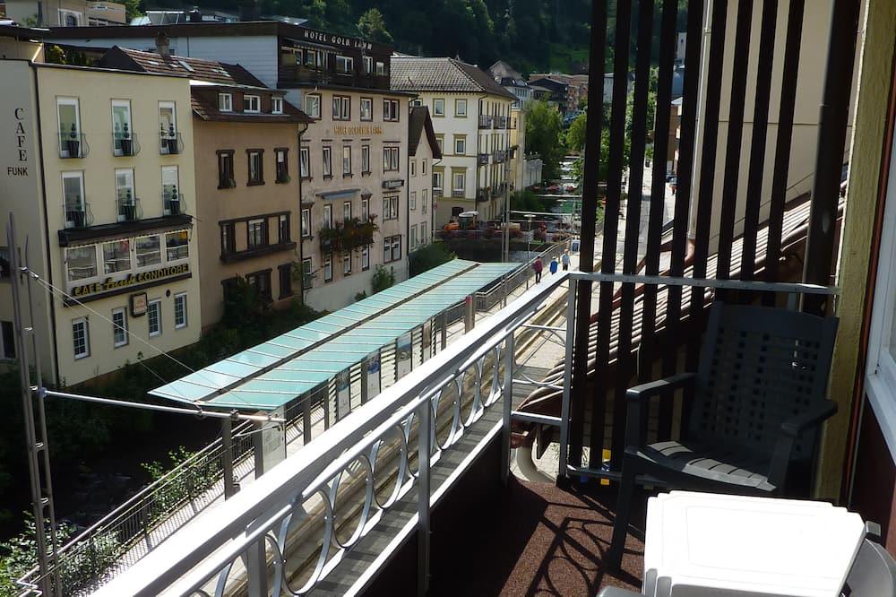 Pokój dwuosobowy, balkon, widok na dziedziniec - Balkon