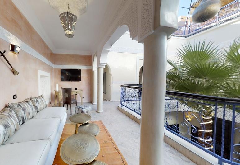 Riad Kamal, Marrakech, Інтер'єр готелю