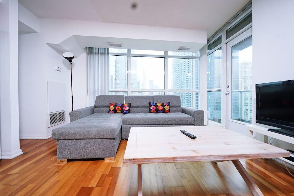 Comfort lakás, 2 hálószobával, nemdohányzó, kilátással a városra - Kiemelt kép