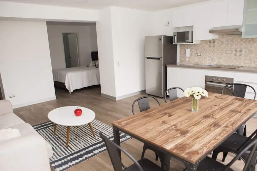 Apartmán, 1 ložnice - Stravování na pokoji