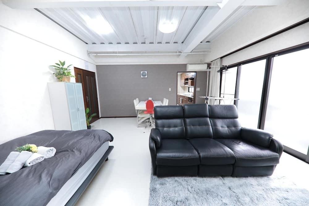 Apartmán (101) - Obývacie priestory
